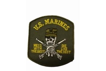 Badge US marines met doodskop