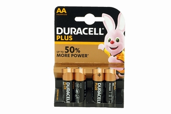 Duracell Plus Power AA (4-Pack)