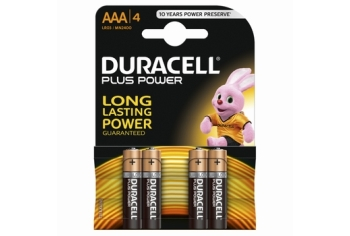 Duracell Plus Power AAA (4-pack)