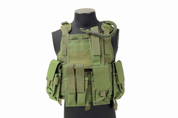 MFH Ranger Tactical Vest OD Green