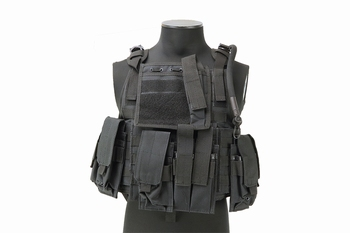 MFH Ranger Tactical Vest Black