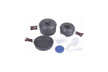 Aluminium cooking set