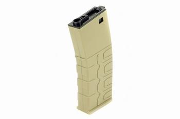 ICS T4 Tactical Polymer M4 Magazine (Hi-Cap) Tan