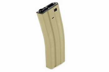 ICS M4/M16 High-Cap Extended Magazine (450rnd) Tan