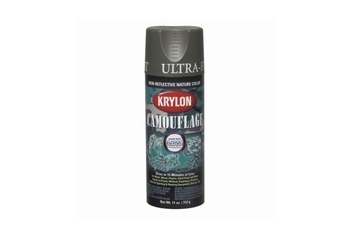 KRYLON Camouflage paint Color: Olive Drab