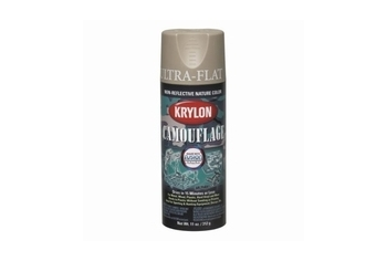 KRYLON Camouflage Paint Color: Khaki