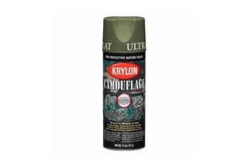 KRYLON Camouflage Paint Color: Green