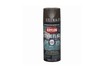 KRYLON Camouflage Paint Color: Brown