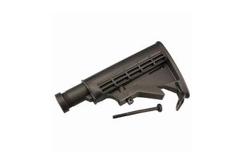 ICS Tactical Retractable Stock Black