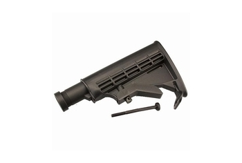ICS Tactical Retractable Stock Black