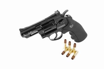 Dan Wesson 2.5 inch Revolver Black (High Power) CO2