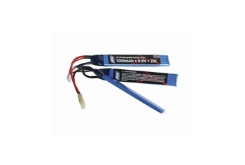 ASG Battery, 9,9V 1000 mAh 20c, LI-FE, 3-Split sticks