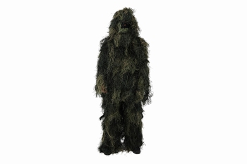Ghillie Suit, 4 Delig