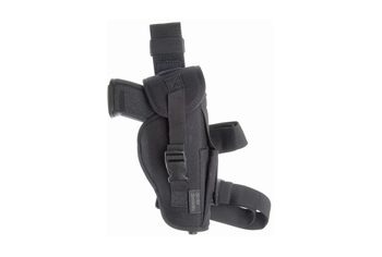 Strike Systems Thigh Holster Flapped for MK23, DE50, black