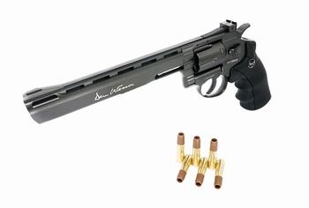 Dan Wesson 8 inch Revolver Grey (High Power) CO2